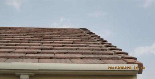 坡屋面挂瓦施工标准